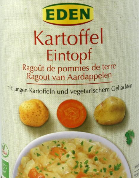 EDEN Kartoffeleintopf, bio
