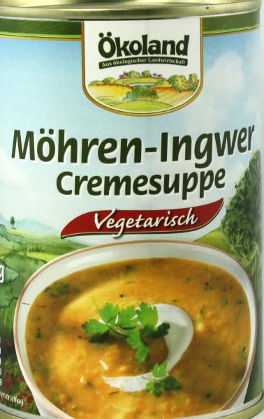 Ökoland Möhren Ingwer Cremesuppe
