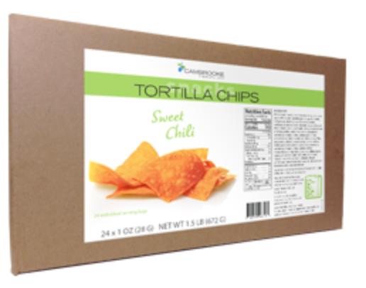 Tortilla Chips Sweet Chili-Box