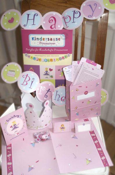 Kindergeburtstag Prinzessinnen