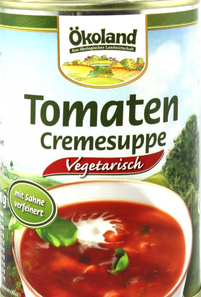 Ökoland Tomaten Creme Suppe, bio