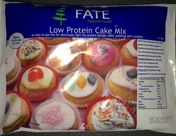 Fate Low Protein Cake Mix