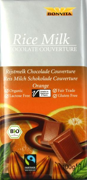BONVITA Orange Reismilch Schokolade