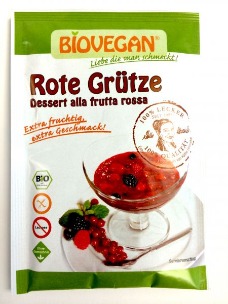 Biovegan Rote Grütze