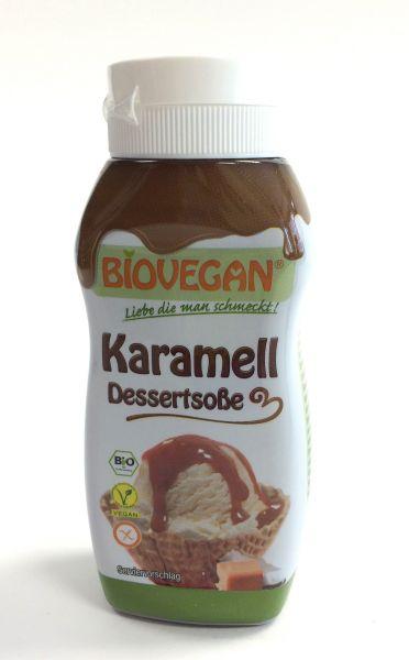 Biovegan Karamell Dessertsoße