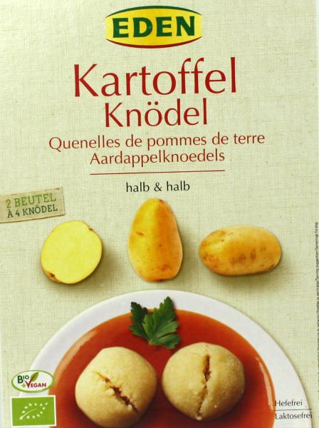 EDEN Kartoffel Knödel halb & halb, bio