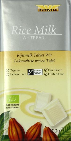 Bonvita Reismilch Tafel Weiss