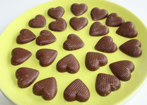 Bonvita Reismilch Herzen Schokolade, vegan