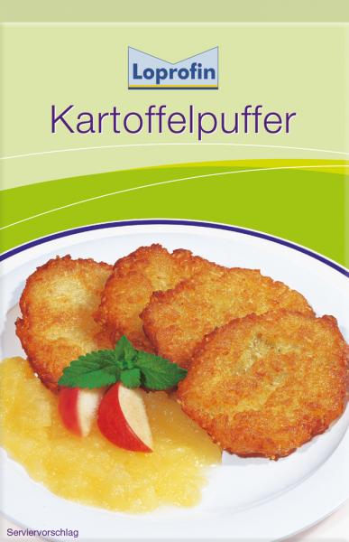 Kartoffelpuffer (für 12 Stück)
