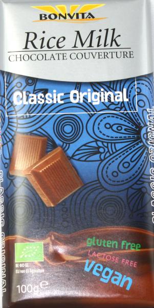 Bonvita Reismilch Schokolade Couverture