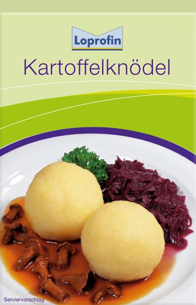 Kartoffelknödel (für 6 Stück)