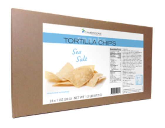 Tortilla Chips ­Sea Salt-Box