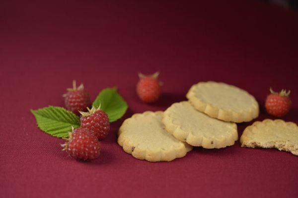 Taranis Himbeer- Mürbteig-Kekse