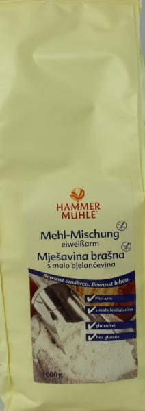 Mehl Mischung, eiweißarm