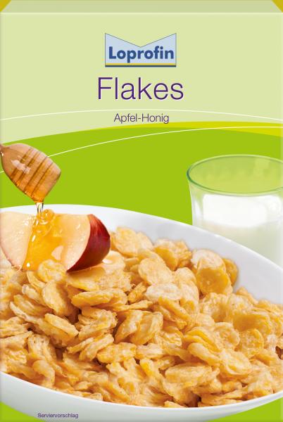 Flakes Apfel Honig