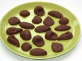 Meeresfrüchte Schokolade