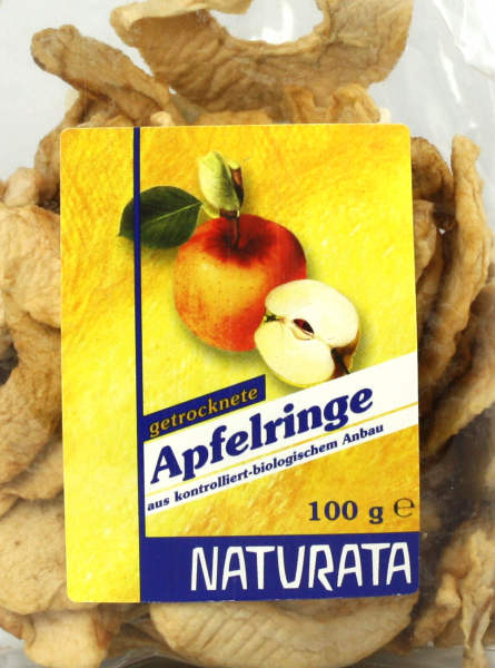 NATURATA Apfelringe, bio